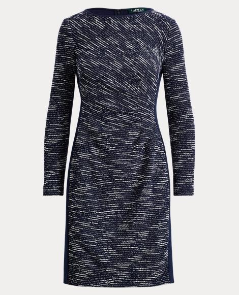 Two-Tone Sheath Dress