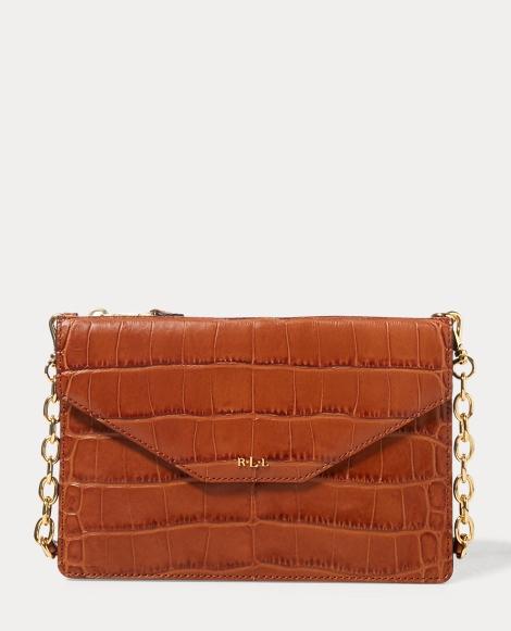 Embossed Erika Crossbody Bag