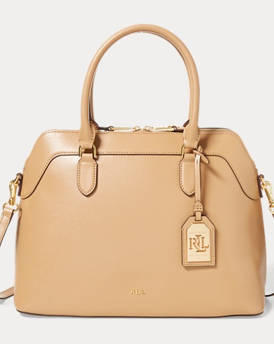 Saffiano Leather Nora Satchel