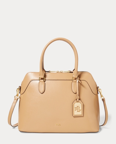 Saffiano Leather Nora Satchel