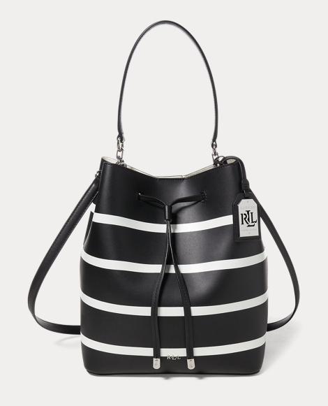 Striped Debby Drawstring Bag