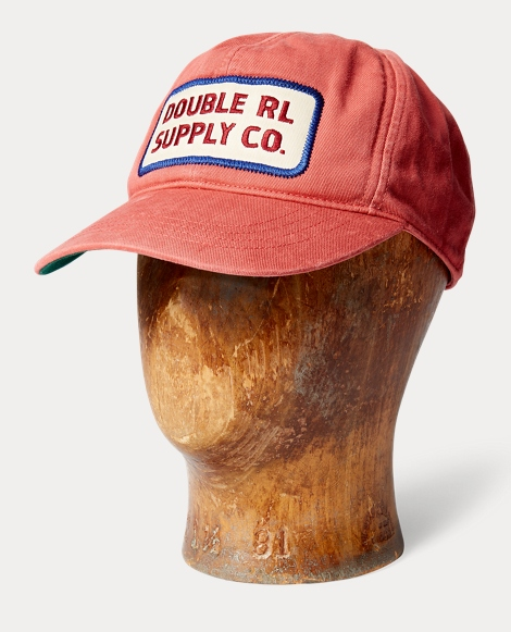 Garment-Dyed Twill Trucker Cap
