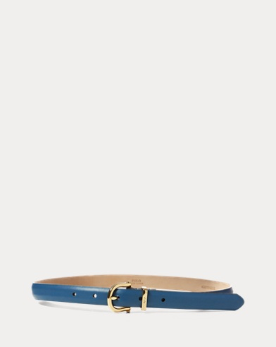 Stirrup Leather Skinny Belt