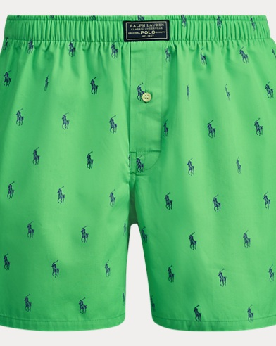 Allover Pony Cotton Boxer