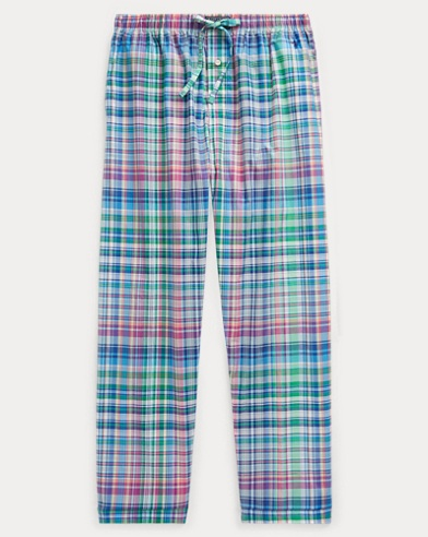 Stretch Cotton Pajama Pant
