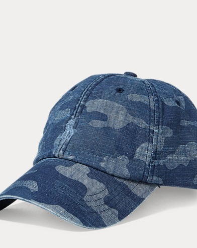 Camo Cotton Baseball Cap