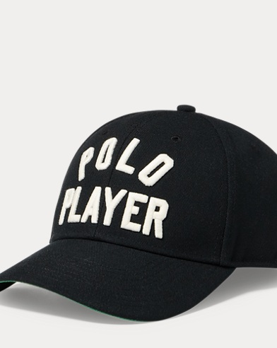 Polo Player Twill Baseball Cap