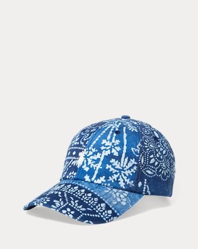 Bandanna-Print Baseball Cap
