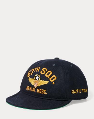 Wool-Blend Pilot's Cap