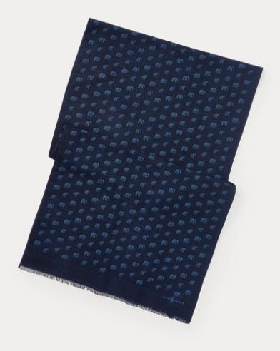 Reversible Silk-Linen Scarf