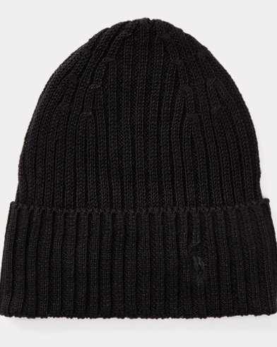 Rib-Knit Linen Hat