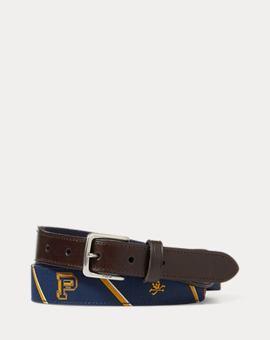 Polo-Overlay Webbed Belt