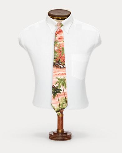 Handmade Hawaiian Silk Tie
