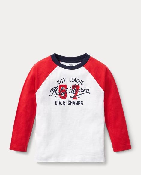 Cotton Raglan Graphic T-Shirt
