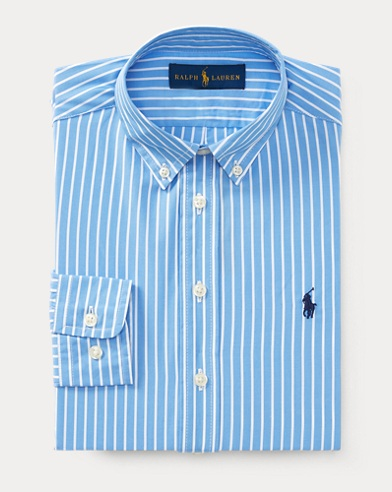 Custom Fit Cotton Dress Shirt