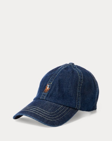 Cotton Chambray Baseball Cap