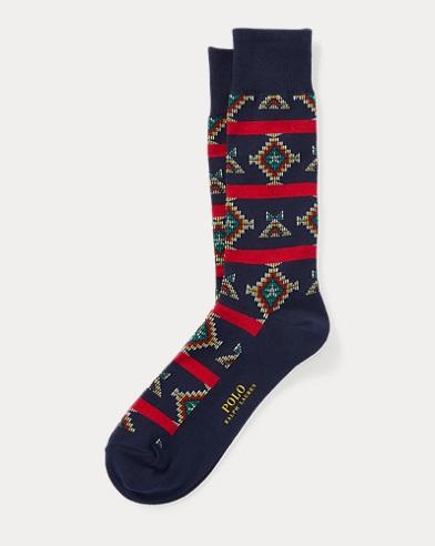 Cowboy Fair Isle Trouser Socks