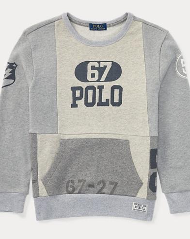 Patchwork Cotton Sweatshirt