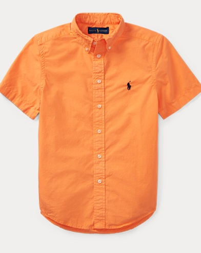 Cotton Poplin Sport Shirt