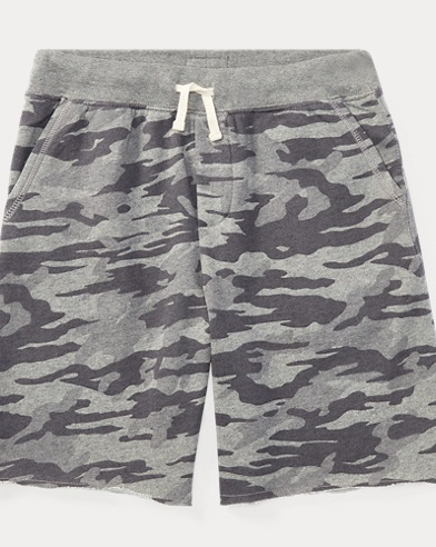 Camo Cotton French Terry Short