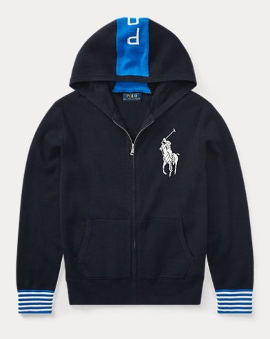 Big Pony Cotton Hoodie