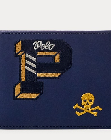 Collegiate Leather Card Case