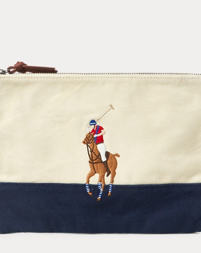 Big Pony Cotton Pouch