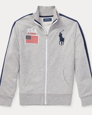USA Cotton Track Jacket