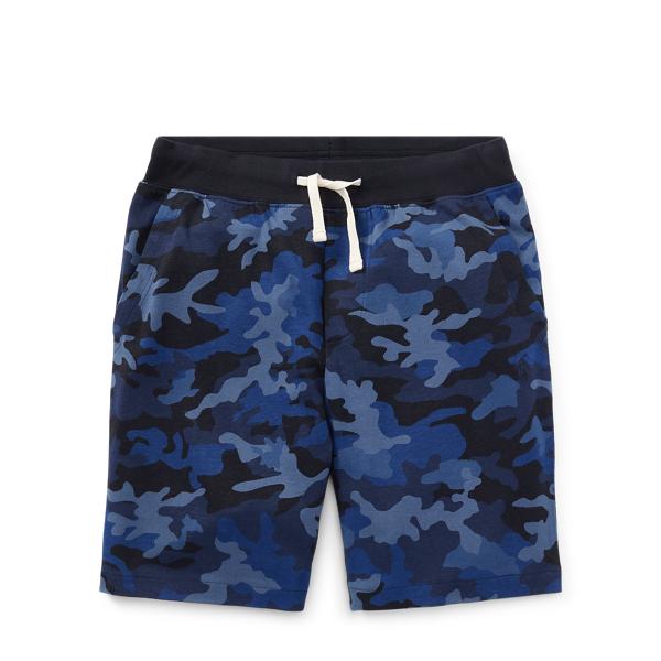 Ralph Lauren Camo Cotton Jersey Short Blue Camo S