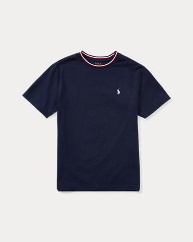 Cotton Jersey Ringer T-Shirt