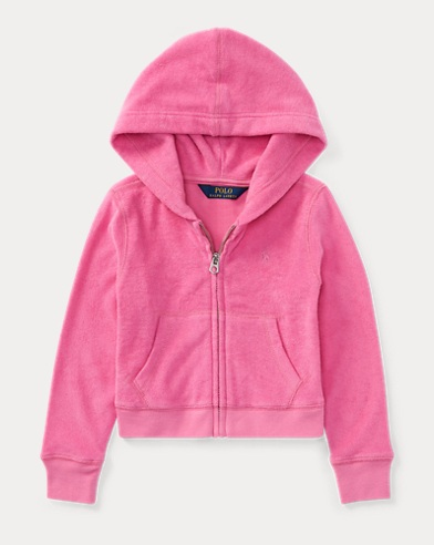 Cotton Terry Full-Zip Hoodie