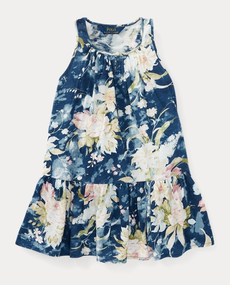 Floral Cotton Jersey Dress