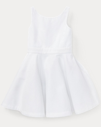 Cotton Crossback Dress