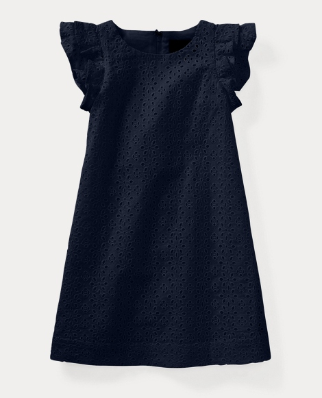 Eyelet Cotton Dress