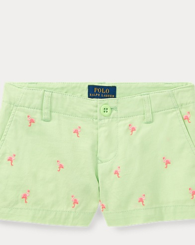 Flamingo Cotton Chino Short