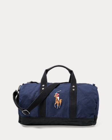 Polo Ralph Lauren. Canvas Big Pony Backpack. $150.00. Canvas Big Pony  Duffel Bag