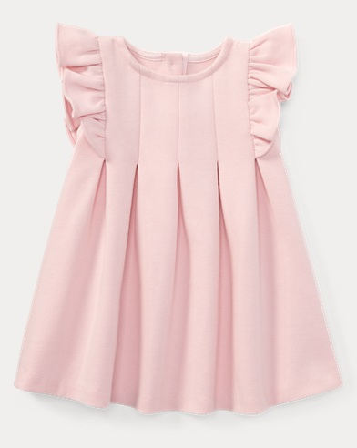 Ruffled Ponte Dress & Bloomer