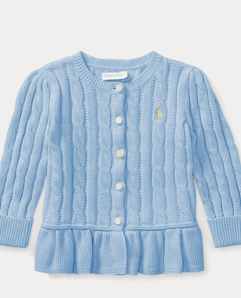 Baby Girls' Sweaters, Shrugs, & Cardigans | Ralph Lauren