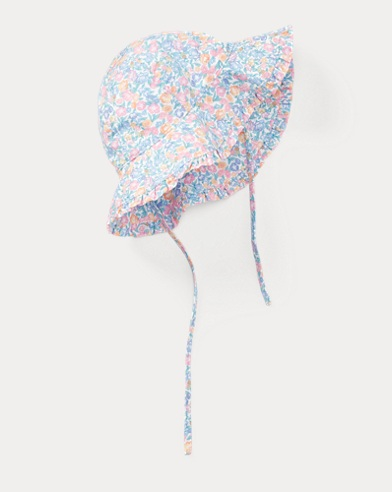 Floral Cotton Bucket Hat