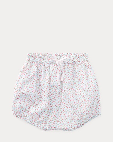 Floral-Print Cotton Bloomer