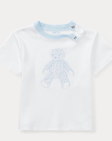 Bear Cotton Interlock T-Shirt