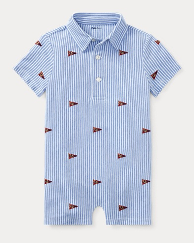 Knit Cotton Oxford Shortall