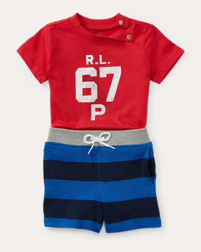 Cotton T-Shirt & Short Set