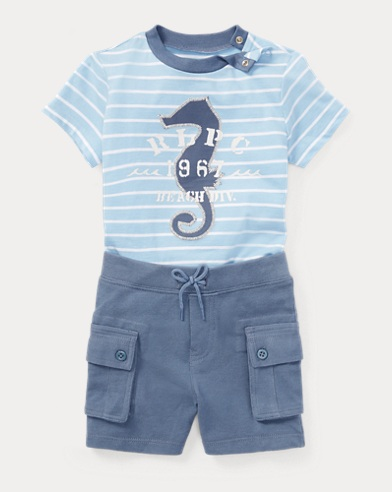 Cotton T-Shirt & Short Set