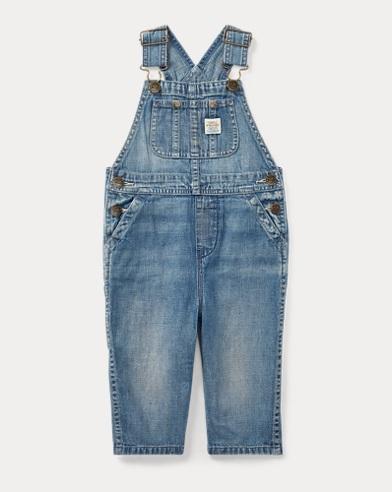 Cotton Denim Overall