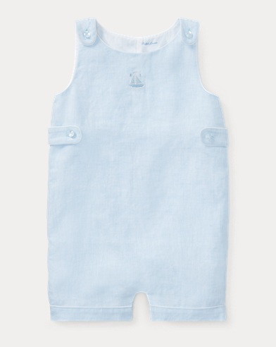 Sailboat Linen Shortall