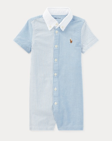 Cotton Oxford Fun Shortall