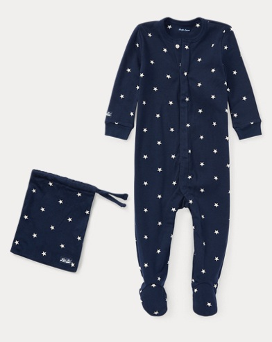 Star Cotton Sleep Coverall