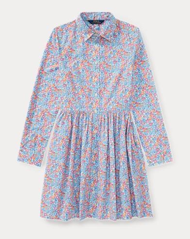 Floral Cotton Shirtdress