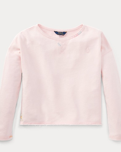 Embroidered Terry Sweatshirt